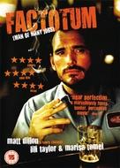 Factotum - British Movie Cover (xs thumbnail)
