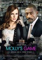 Molly's Game - Lebanese Movie Poster (xs thumbnail)