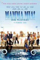 Mamma Mia! Here We Go Again - Movie Poster (xs thumbnail)