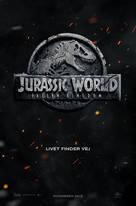 Jurassic World: Fallen Kingdom - Danish Movie Poster (xs thumbnail)