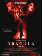 Dracula 2000 - Spanish Movie Poster (xs thumbnail)