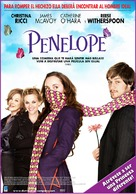 Penelope - Argentinian Movie Poster (xs thumbnail)