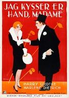 Ich küsse Ihre Hand, Madame - Swedish Movie Poster (xs thumbnail)
