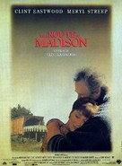 The Bridges Of Madison County - French Movie Poster (xs thumbnail)
