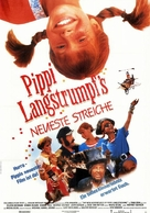 The New Adventures of Pippi Longstocking - German Movie Poster (xs thumbnail)