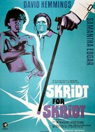 The Walking Stick - Danish Movie Poster (xs thumbnail)