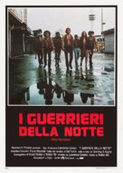 The Warriors - Italian Theatrical poster (xs thumbnail)