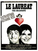 The Graduate - French Movie Poster (xs thumbnail)