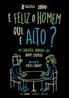 Is the Man Who Is Tall Happy?: An Animated Conversation with Noam Chomsky - Portuguese Movie Poster (xs thumbnail)