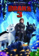 How to Train Your Dragon: The Hidden World - Czech DVD movie cover (xs thumbnail)