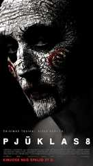Jigsaw - Lithuanian Movie Poster (xs thumbnail)