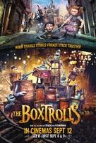 The Boxtrolls - British Movie Poster (xs thumbnail)