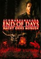 End Of Days - German poster (xs thumbnail)