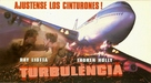 Turbulence - Argentinian Movie Poster (xs thumbnail)