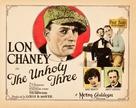 The Unholy Three - Movie Poster (xs thumbnail)
