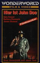 Meet John Doe - German Movie Cover (xs thumbnail)