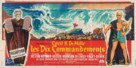 The Ten Commandments - French Movie Poster (xs thumbnail)