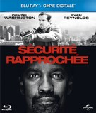 Safe House - French Blu-Ray cover (xs thumbnail)