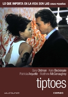 Tiptoes - Spanish DVD movie cover (xs thumbnail)
