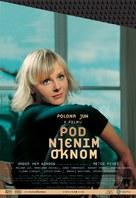 Pod njenim oknom - Slovenian poster (xs thumbnail)