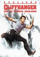 Cliffhanger - German Movie Poster (xs thumbnail)