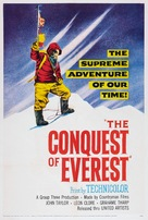 The Conquest of Everest - British Movie Poster (xs thumbnail)
