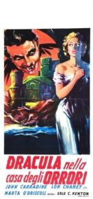 House of Dracula - Italian Movie Poster (xs thumbnail)