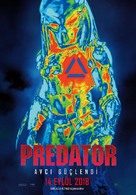 The Predator - Turkish Movie Poster (xs thumbnail)
