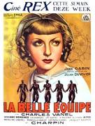 La belle équipe - Belgian Movie Poster (xs thumbnail)