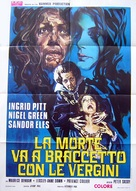 Countess Dracula - Italian Movie Poster (xs thumbnail)
