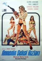Mama's Dirty Girls - Turkish Movie Poster (xs thumbnail)