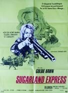 The Sugarland Express - Danish Movie Poster (xs thumbnail)