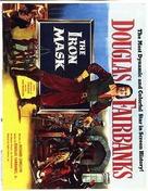 The Iron Mask - British Movie Poster (xs thumbnail)