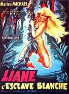 Liane, die weiße Sklavin - French Movie Poster (xs thumbnail)