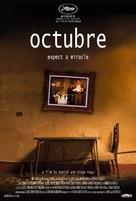 Octubre - Movie Poster (xs thumbnail)