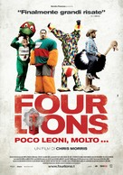 Four Lions - Italian Movie Poster (xs thumbnail)