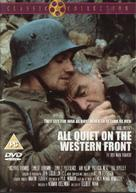 All Quiet on the Western Front - British DVD movie cover (xs thumbnail)