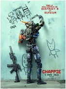 Chappie - French Movie Poster (xs thumbnail)