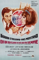 On a Clear Day You Can See Forever - Puerto Rican Movie Poster (xs thumbnail)
