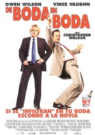 Wedding Crashers - Spanish Movie Poster (xs thumbnail)