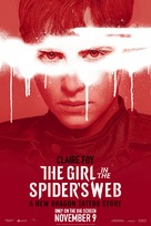 The Girl in the Spider's Web - Movie Poster (xs thumbnail)