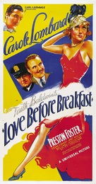 Love Before Breakfast - Theatrical poster (xs thumbnail)