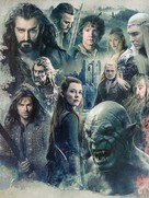 The Hobbit: The Battle of the Five Armies - Key art (xs thumbnail)