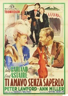 Easter Parade - Italian Movie Poster (xs thumbnail)