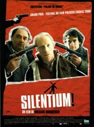 Silentium - French Movie Poster (xs thumbnail)