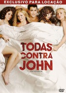 John Tucker Must Die - Brazilian DVD movie cover (xs thumbnail)