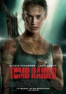 Tomb Raider - Dutch Movie Poster (xs thumbnail)