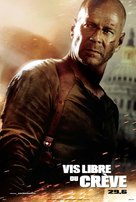 Live Free or Die Hard - Canadian Movie Poster (xs thumbnail)