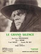 Il grande silenzio - French poster (xs thumbnail)