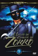 Zorro's Fighting Legion - Spanish DVD cover (xs thumbnail)